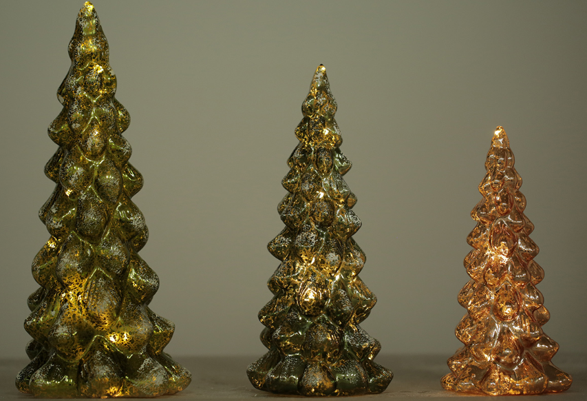 Weihnachtsdeko Beleuchtet.Weihnachtsdekoration Glastannenbaum Beleuchtet L S Gmbh