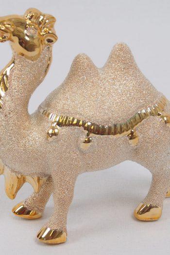 Dekofigur chinesisches Pferd - Polyresin