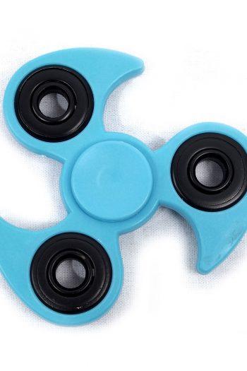 Fidget Spinner blau eckig