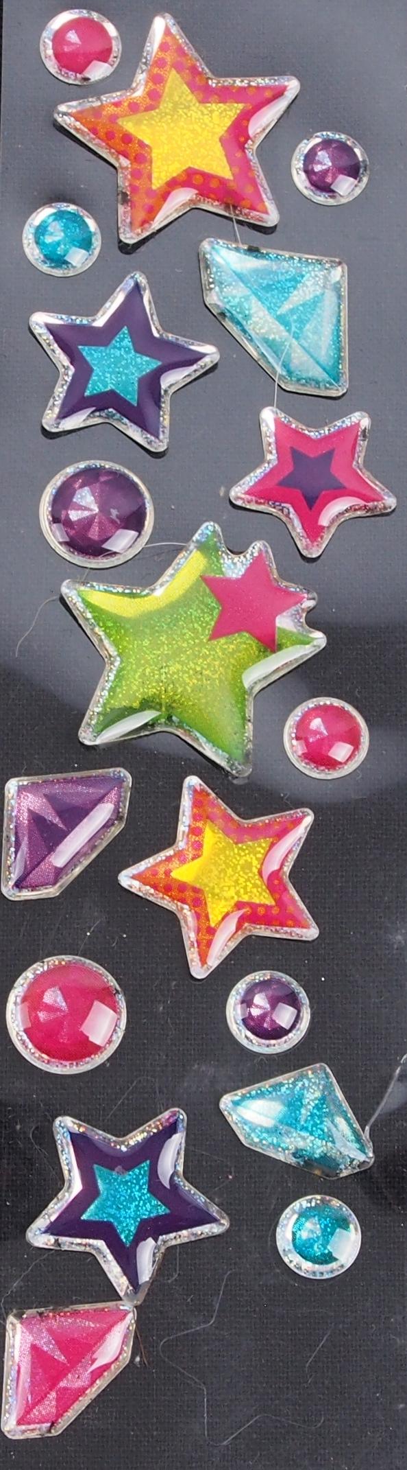 Kunststoffsticker Sterne