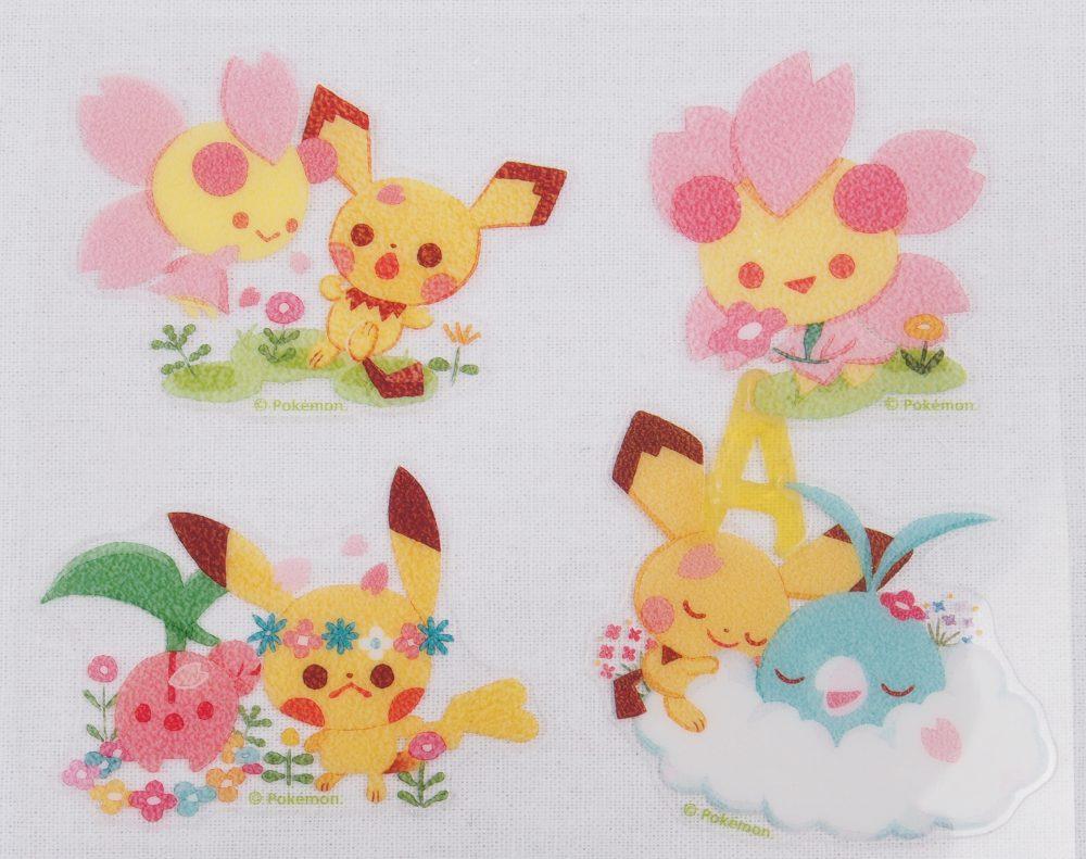 Papiersticker Pokémon