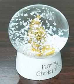 Schneekugel Merry Christmas