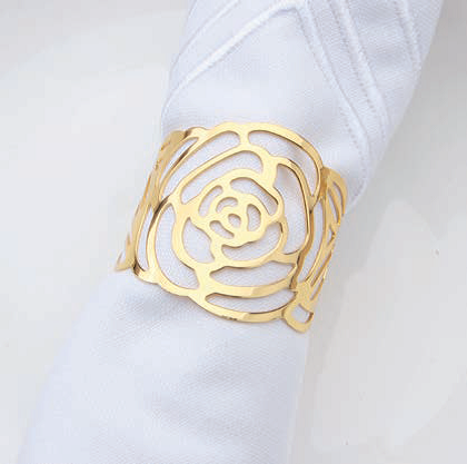 Serviettenring Rose gold