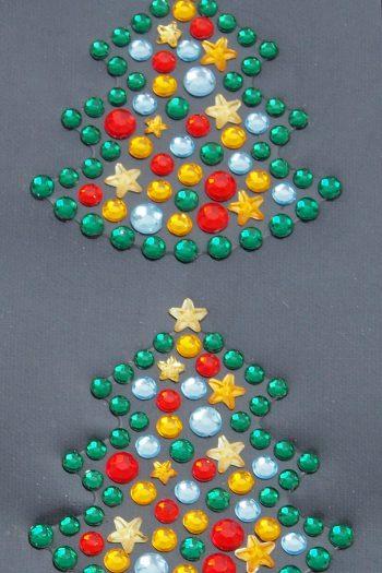 Strasssticker Weihnachtsbaum