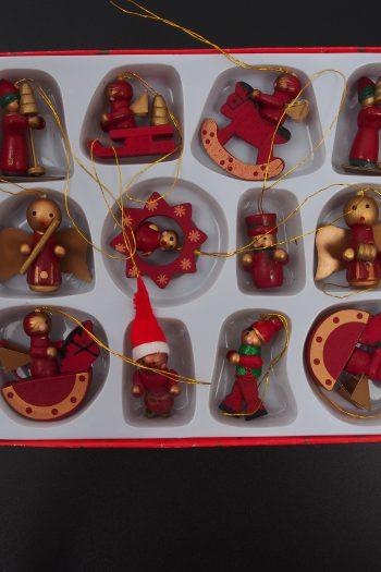 Weihnachtschmuck - Holz-Baumbehang