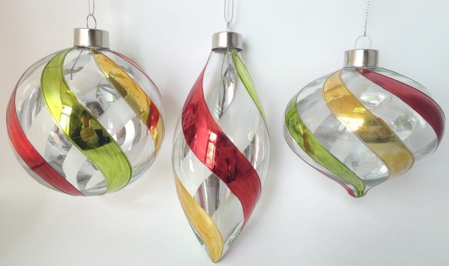 Weihnachtsdekoration aus Glas - alle Farben und Designs | L&S GmbH