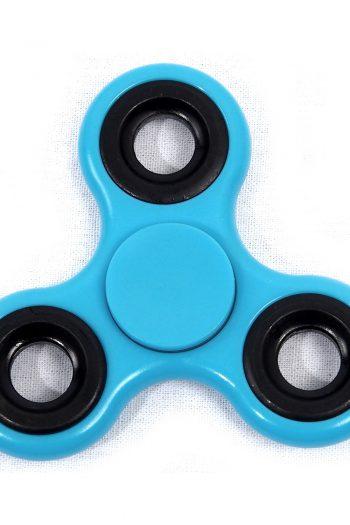 Fidget Spinner blau rund
